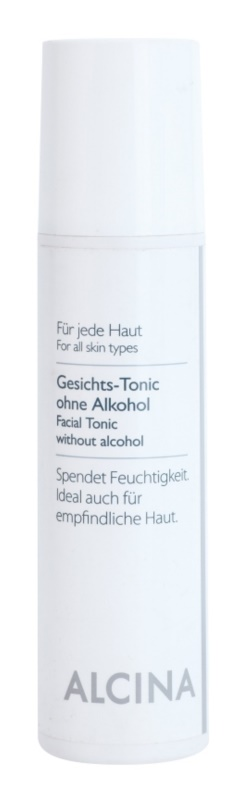 Alcina For All Skin Types lotion tonique visage sans alcool