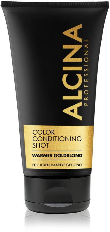Alcina Color Conditioning Shot Gold balzam za toniranje za naglašavanje boje kose