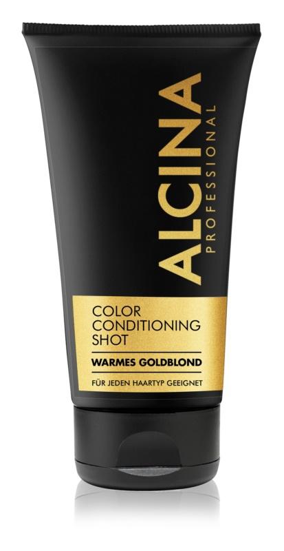 Alcina Color Conditioning Shot Gold Getinte Balsem voor Accentueren van Haarkleur