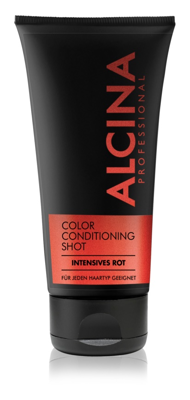 Alcina Color Conditioning Shot Red Bálsamo de tonificação para enfatização de cor de cabelo