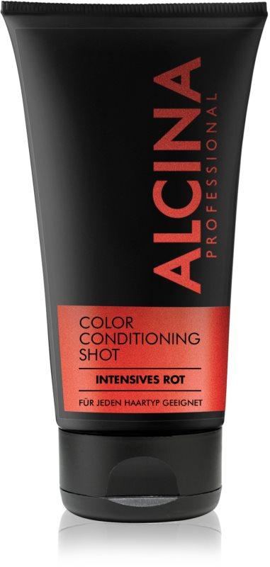 Alcina Color Conditioning Shot Red tönendes Balsam für eine leuchtendere Haarfarbe