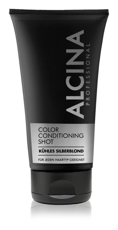 Alcina Color Conditioning Shot Silver balsam tonujący dla podkreślenia koloru włosów