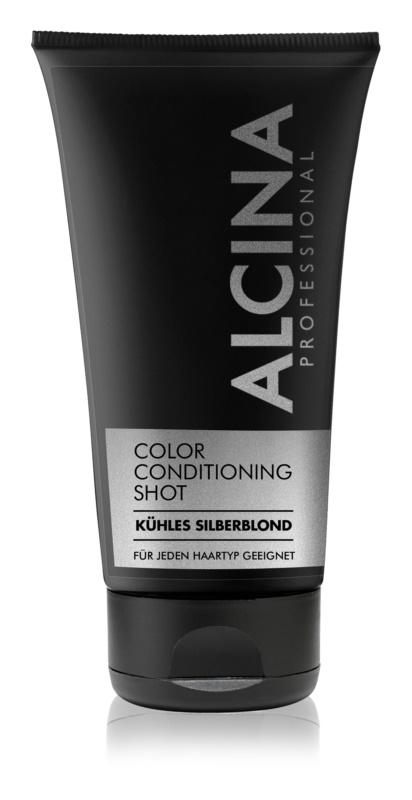 Alcina Color Conditioning Shot Silver tonirani balzam za intenzivnost barve las