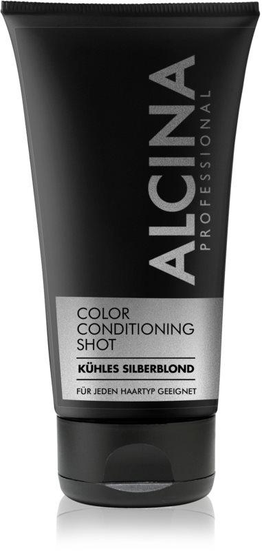 Alcina Color Conditioning Shot Silver tonizáló balzsam a hajszín élénkítéséért