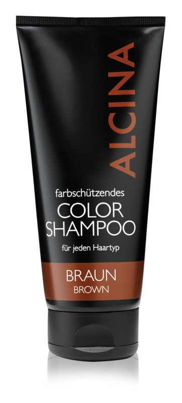 Alcina Color Brown sampon a barna árnyalatú hajra