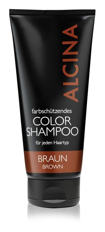 Alcina Color Brown shampoing pour cheveux bruns