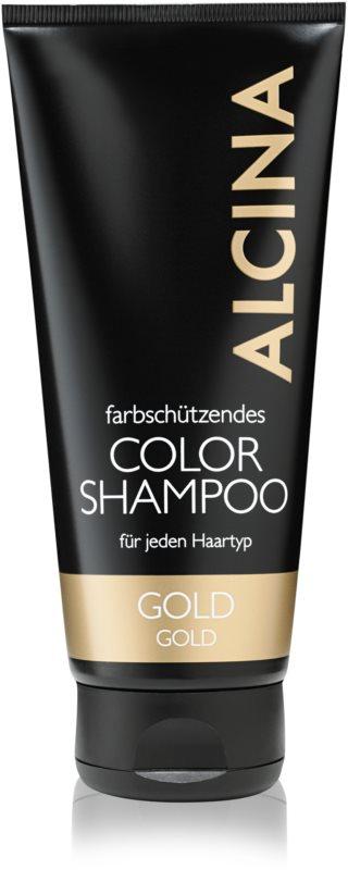 Alcina Color Gold sampon a szőke meleg árnyalataiért