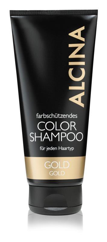 Alcina Color Gold šampon za tople blond odtenke