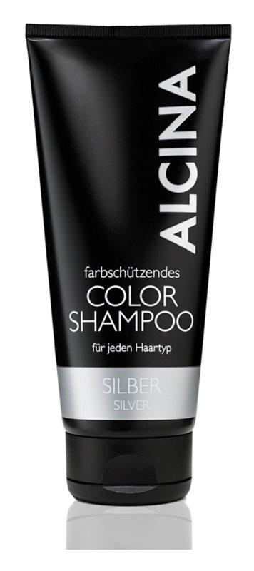 Alcina Color Silver sampon a szőke hideg árnyalataiért