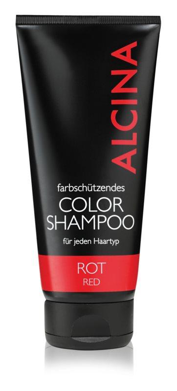 Alcina Color Red champô para tons avermelhados de cabelo