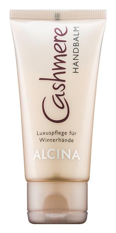 Alcina Cashmere luksusowa pielęgnacja dłoni zimą