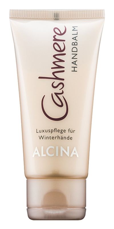 Alcina Cashmere soin de luxe mains pour l'hiver