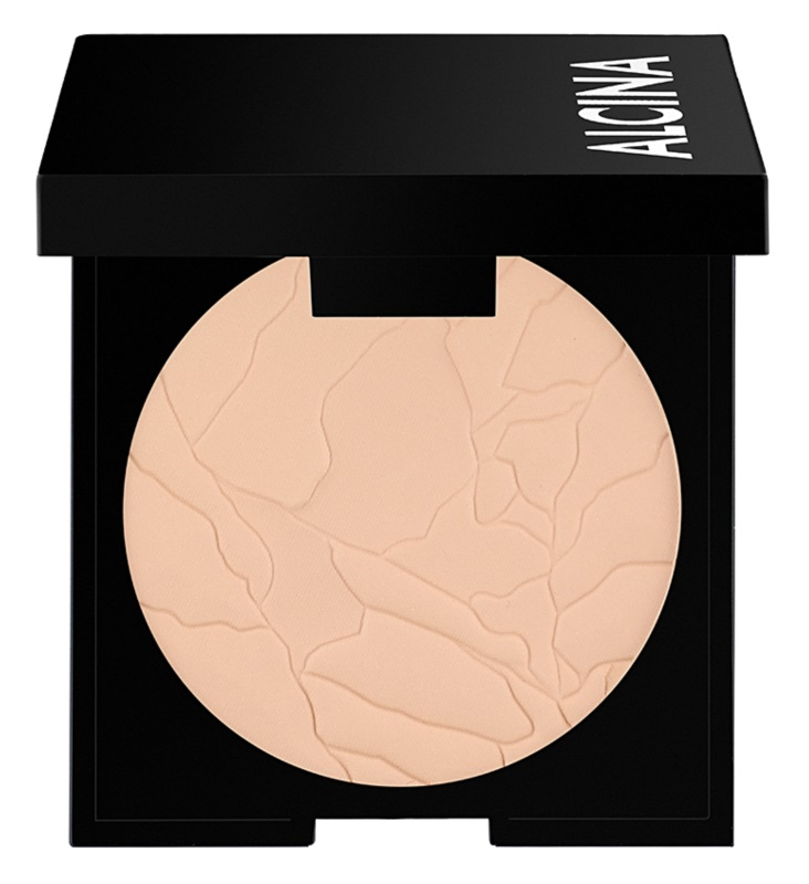 Alcina Decorative Matt Sensation 2 in 1 pudra si makeup