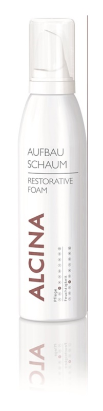 Alcina Dry and Damaged Hair Espuma regeneradora com efeito instantâneo