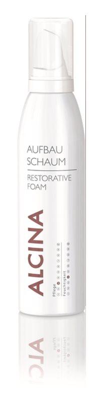 Alcina Dry and Damaged Hair regeneráló hab azonnali hatással