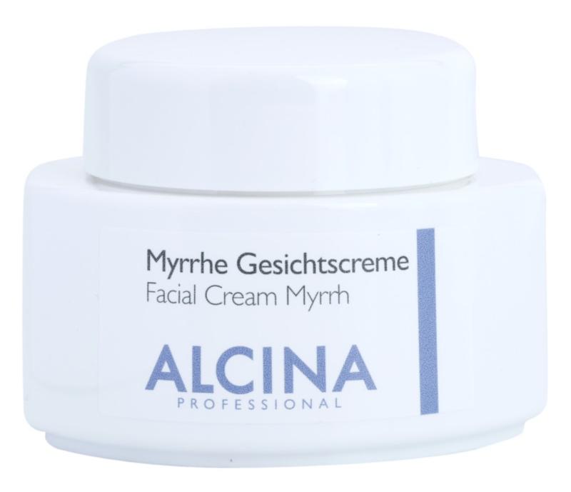 Alcina For Dry Skin Myrrh crema pentru ten  cu efect antirid