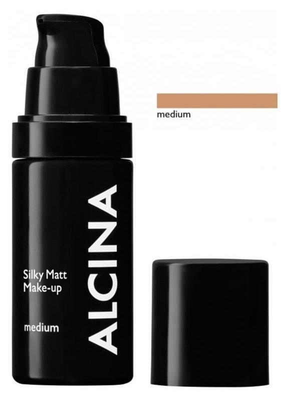 Alcina Decorative Silky Matt make-up s pudrovým efektem