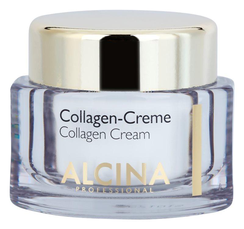 Alcina Effective Care krema za obraz s kolagenom