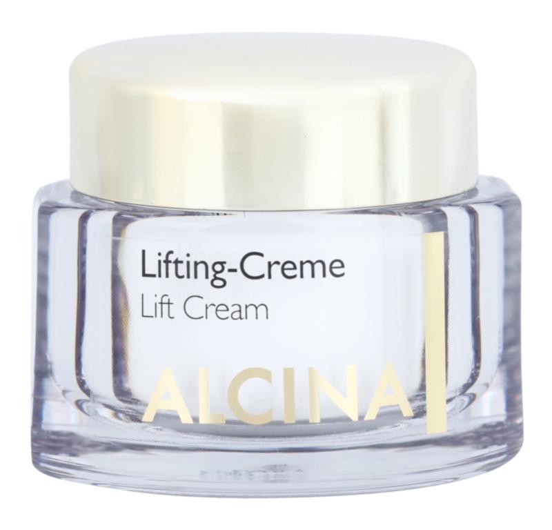 Alcina Effective Care crema cu efect de lifting pentru protectia tenului