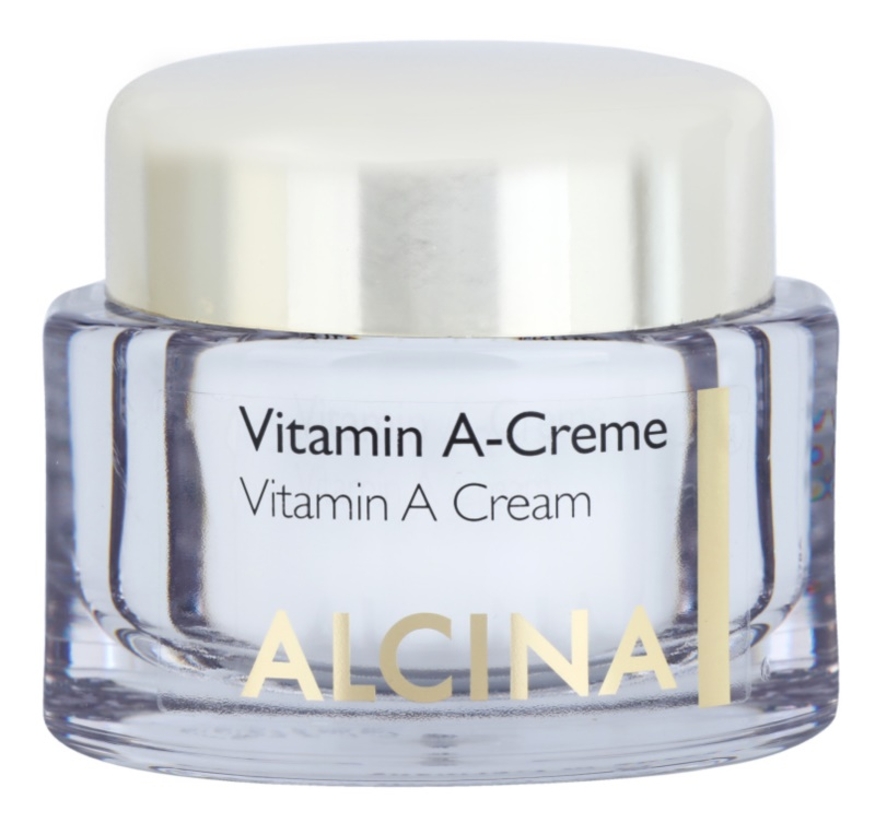 Alcina Effective Care Anti-Wrinkle Cream with Vitamin A