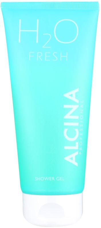 Alcina H2O Fresh gel de duche para pele fina e lisa