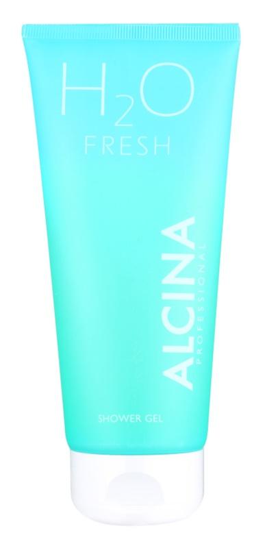Alcina H2O Fresh tusfürdő gél a finom és sima bőrért