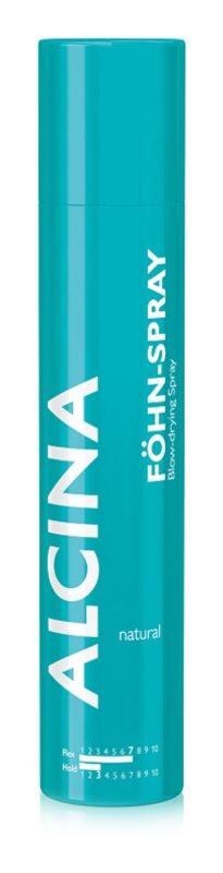 Alcina Styling Natural Föhnspray für natürliche Geschmeidigkeit und Haarvolumen