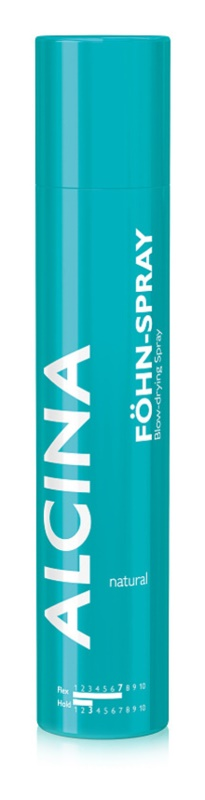 Alcina Styling Natural spray protettivo per phon per capelli elastici e voluminosi