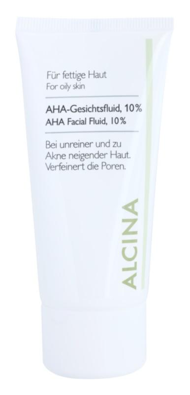 Alcina For Oily Skin 10% AHA Acid Fluid