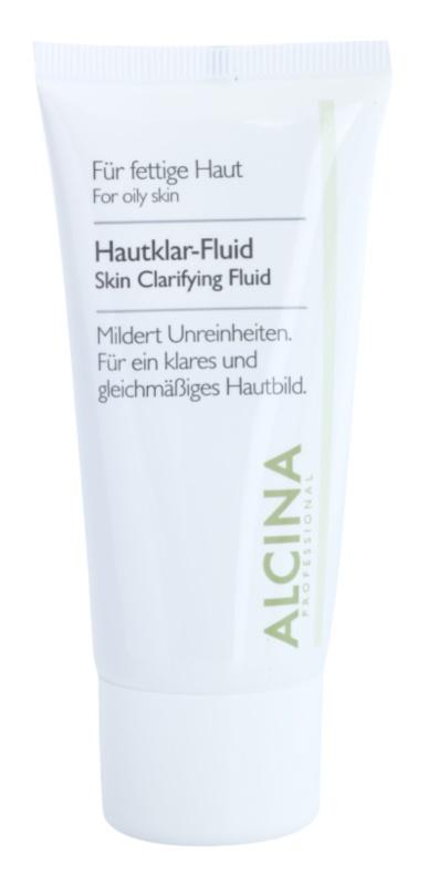 Alcina For Oily Skin zeliščni fluid za osvetlitev kože