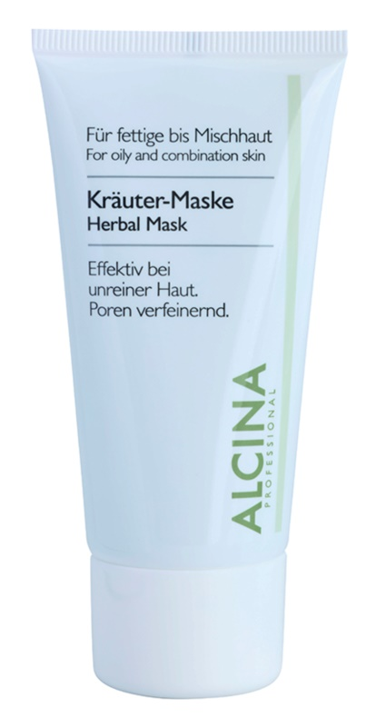 Alcina For Oily Skin Herbal Mask To shine and expanded pores