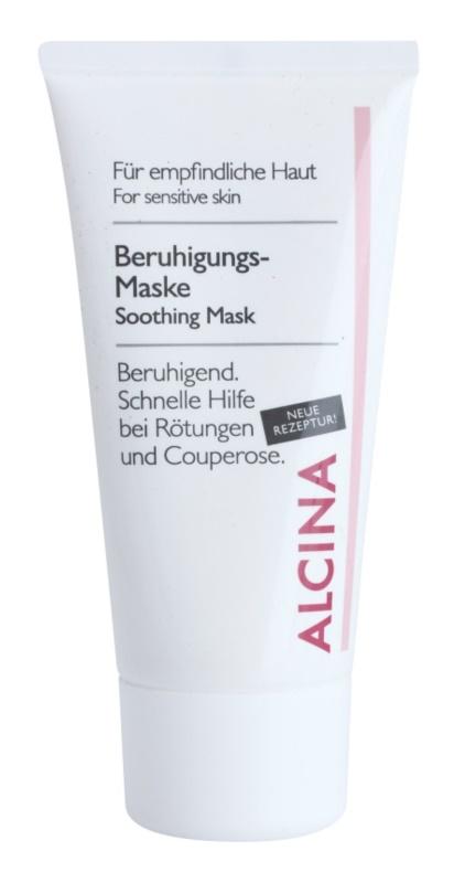 Alcina For Sensitive Skin máscara facial calmante com efeito instantâneo