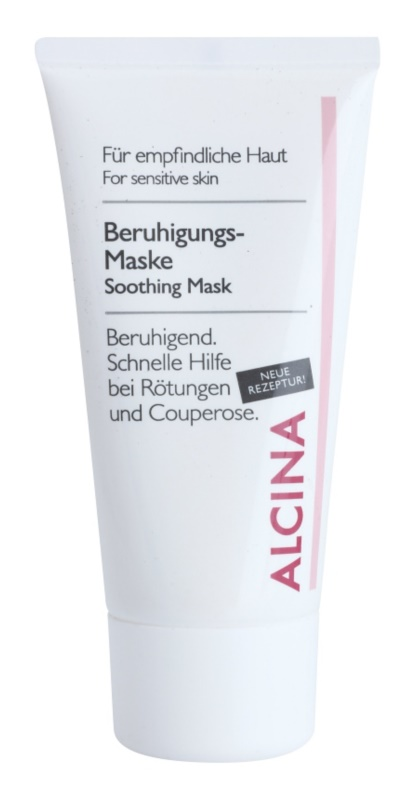 Alcina For Sensitive Skin Soothing Mask With Immediate Effect