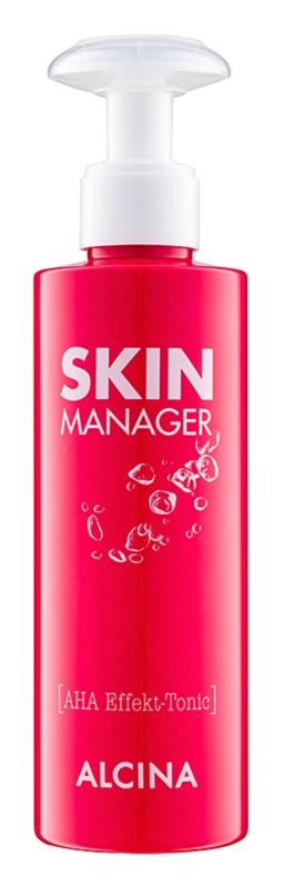 Alcina Skin Manager lotion tonique visage aux acides de fruit