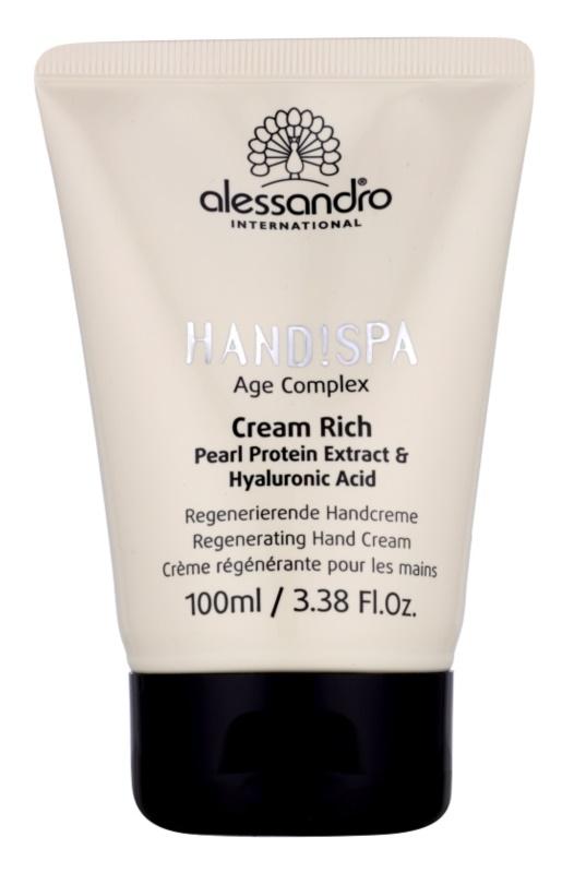 Alessandro Hand! Spa Age Complex crema regeneradora para manos