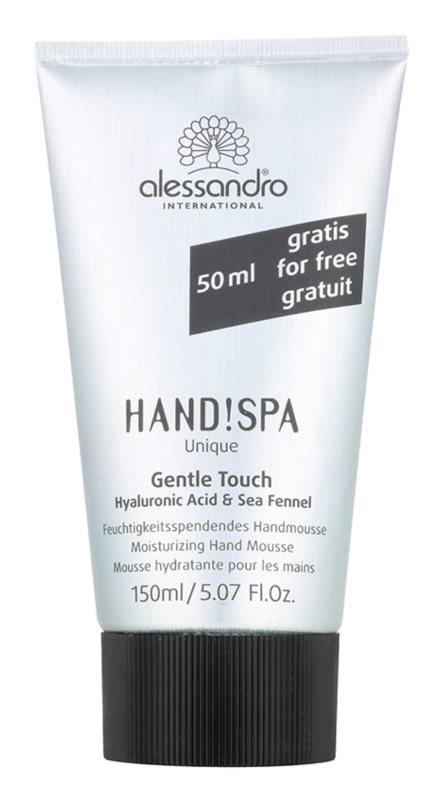 Alessandro Hand! Spa Unique Gentle Touch feuchtigkeitsspendender Schaum für die Hände
