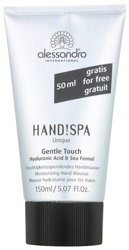 Alessandro Hand! Spa Unique Gentle Touch Hydraterende Schuim  voor de Handen