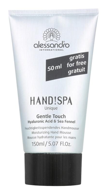 Alessandro Hand! Spa Unique Gentle Touch spumă hidratantă de maini