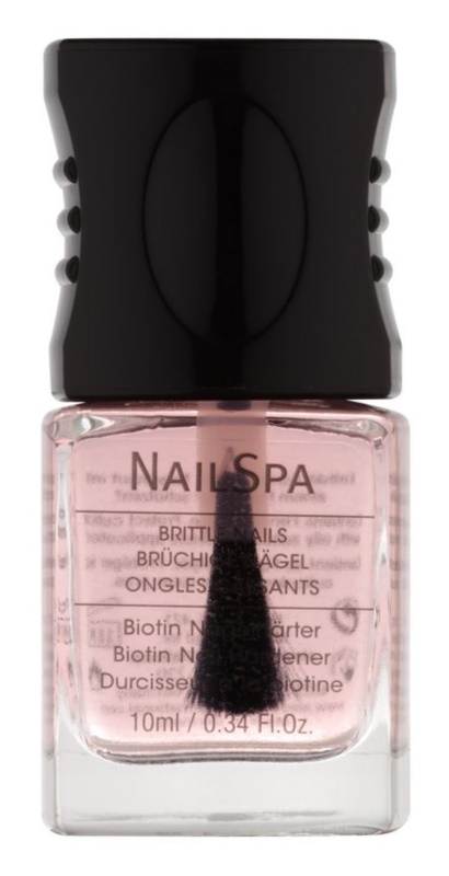 Alessandro NailSpa зміцнюючий лак для нігтів з біотином