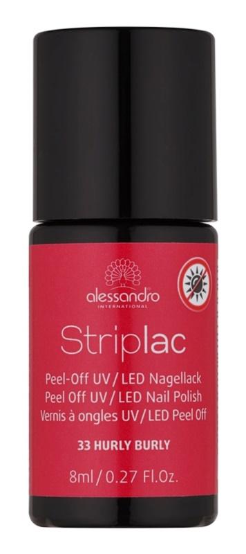 Alessandro Striplac slupovací UV/LED lak na nehty
