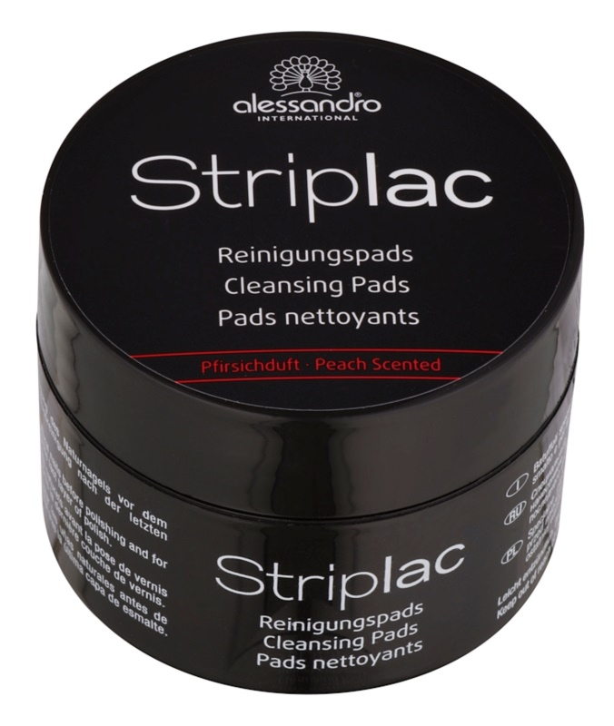 Alessandro Striplac cleansing pads per smalti unghie peel-off