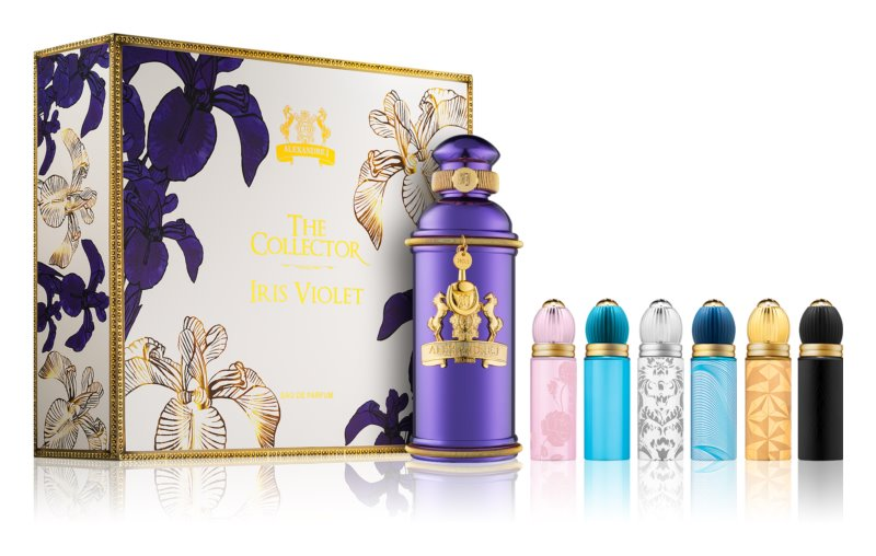 Alexandre.J The Collector: Iris Violet Gift Set I.