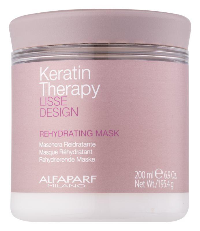 Alfaparf Milano Lisse Design Keratin Therapy mascarilla rehidratante para todo tipo de cabello