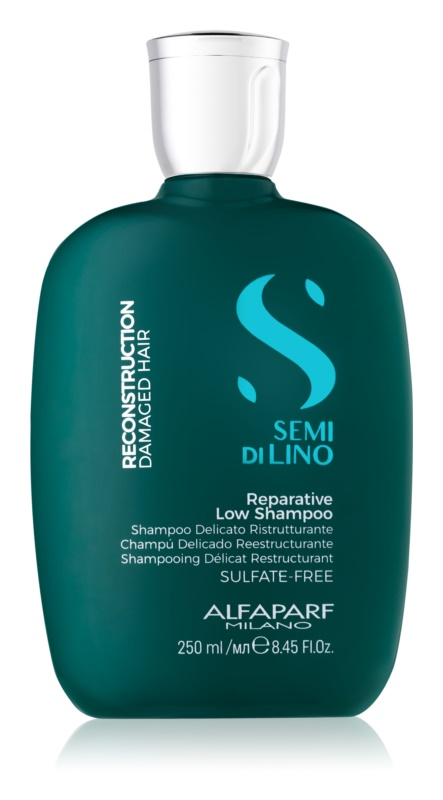 Alfaparf Milano Semi di Lino Reconstruction for Damaged Hair шампунь для пошкодженого волосся