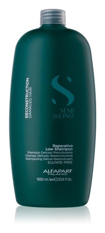 Alfaparf Milano Semi di Lino Reconstruction for Damaged Hair Shampoo für beschädigte Haare
