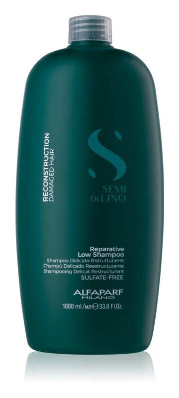 Alfaparf Milano Semi di Lino Reconstruction for Damaged Hair Shampoo voor Beschadigd Haar