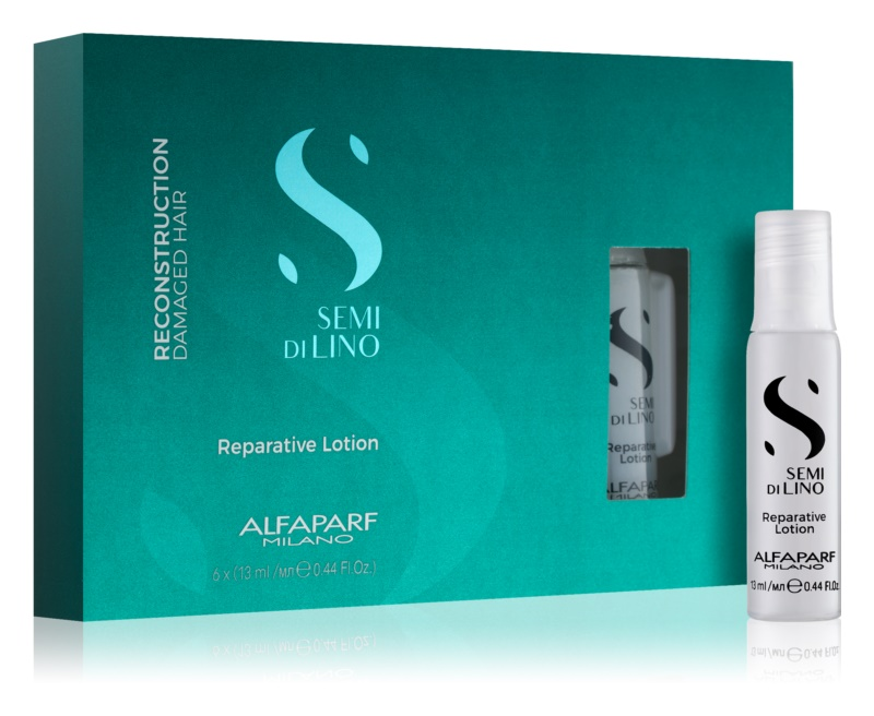Alfaparf Milano Semi di Lino Reconstruction Reparative Pflege für die Rekonstruktion der Haarwurzel