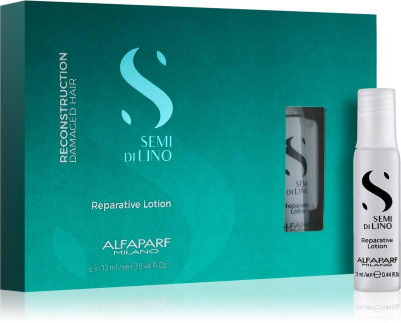 Alfaparf Milano Semi di Lino Reconstruction Reparative tratamento para a reconstrução de fio capilar