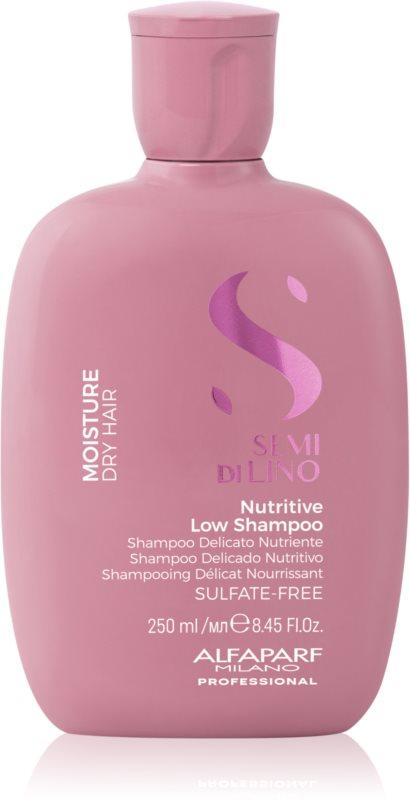Alfaparf Milano Semi di Lino Moisture šampón pre suché vlasy