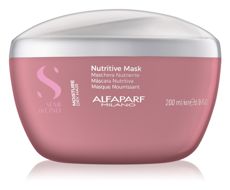 Alfaparf Milano Semi di Lino Moisture Haarmasker  voor Droog Haar